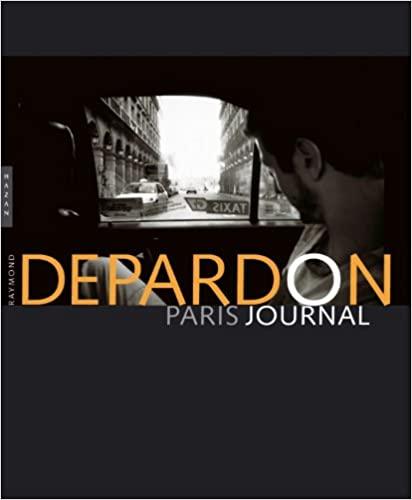 Lecture : Depardon Paris Journal (Depardon)